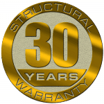 30 Years Structural Warranty