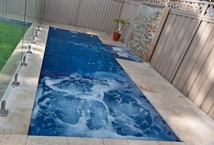 Michelle 6m Fibreglass Swim Spa Plunge Pool Miami Pools
