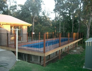 Lap pools sydney melbourne brisbane for Swimming pools melbourne prices