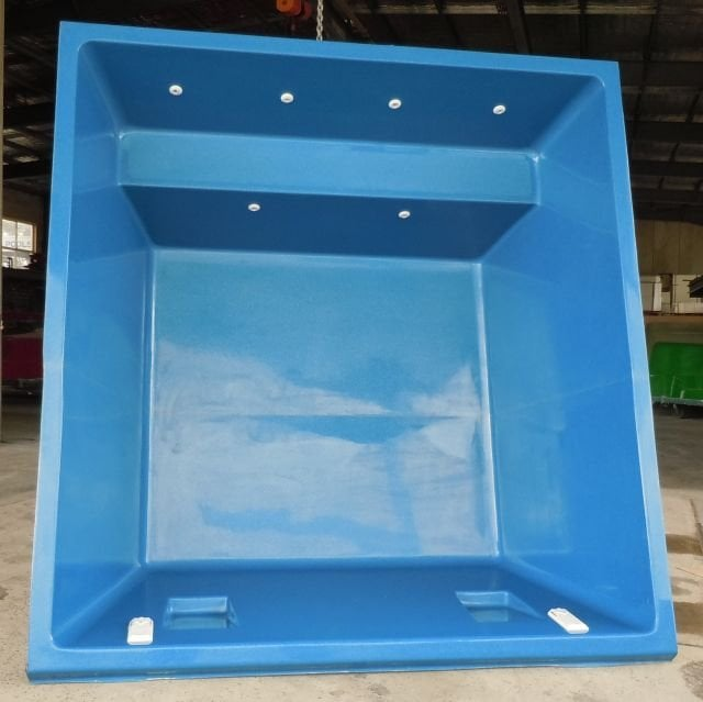 Zoe 2m 3m 4m 5m fibreglass swim spa plunge pool miami - Diy fibreglass swimming pool installation ...