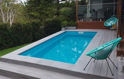 Tania 4m, 5m, 6m Fibreglass Swim Spa/Plunge Pool | Miami Pools